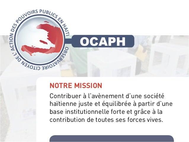 Ocaph élections 2015 Slide 2