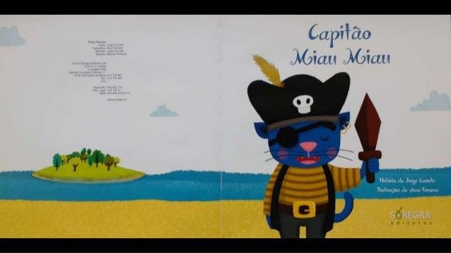 O capitão miau miau