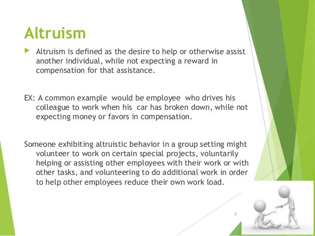 Theories of human altruism: a systematic review