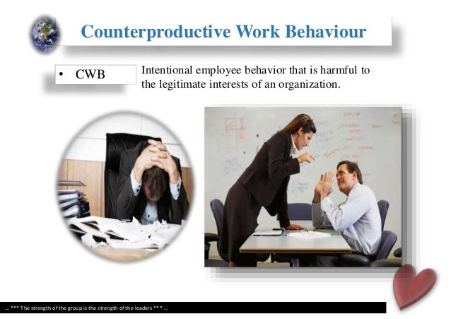 organisational citizenship behaviour and counterproductive work 2010 organizational citizenship behavior and counterproductive work behavior: cross-cultural comparisons between turkey and the netherlands, nevra cem ersoy.