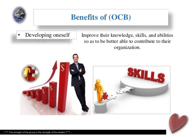 organizational citizenship behaviour Organizational citizenship behavior pointing to the individual, while sportsmanship, civic virtue, and responsibility meaning belong to organizational citizenship behavior pointing to the organization the division method of the dimension of is similar to the second dimension division of smith, organ .