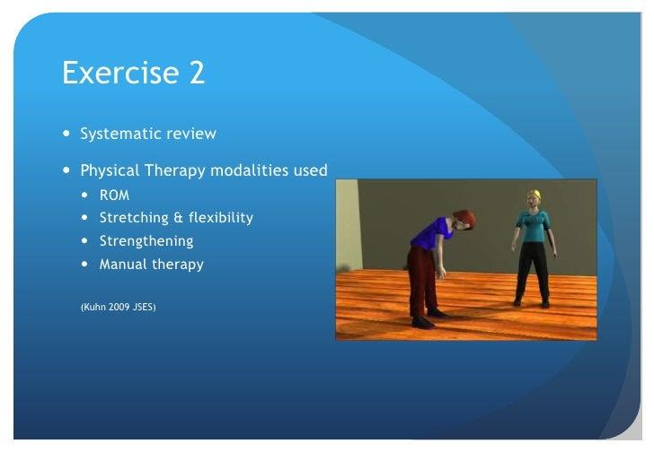 Non-operative Treatment 3<br /><ul><li> Modalities