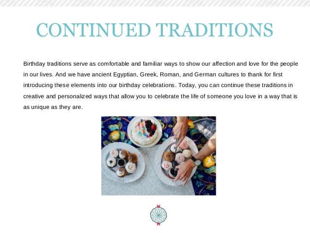 Birthday Tradition Origins: Best ways to remember birthdays
