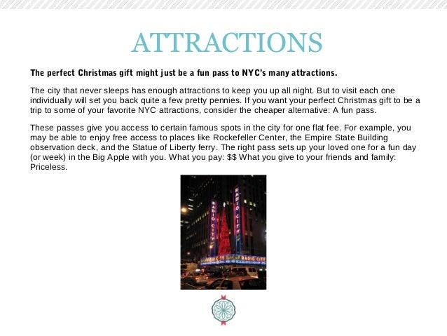 Nyc gift ideas christmas