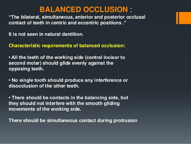 LOTTS'S CONCEPT He clarified the laws of occlusion by relating them to the posterior separation that is the resultant of t...