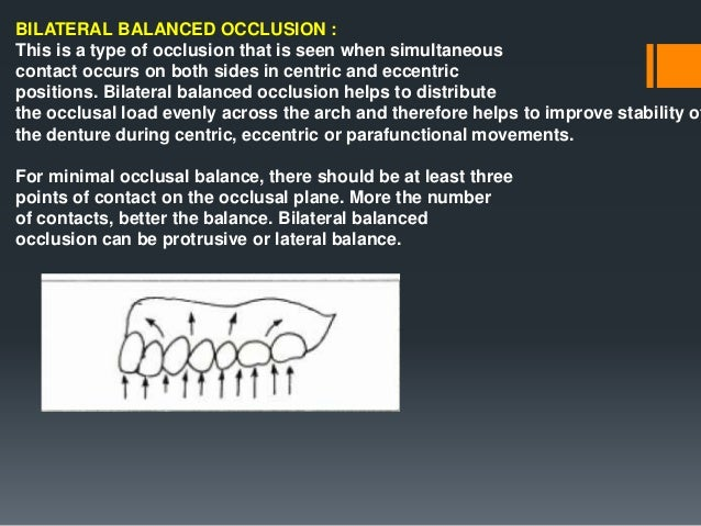 FACTORS INFLUENCING BALANCED OCCLUSION (1) INCLINATION OF THE CONDYLAR PATH. (2) INCISAL GUIDANCE. (3) ORIENTATION OF THE ...