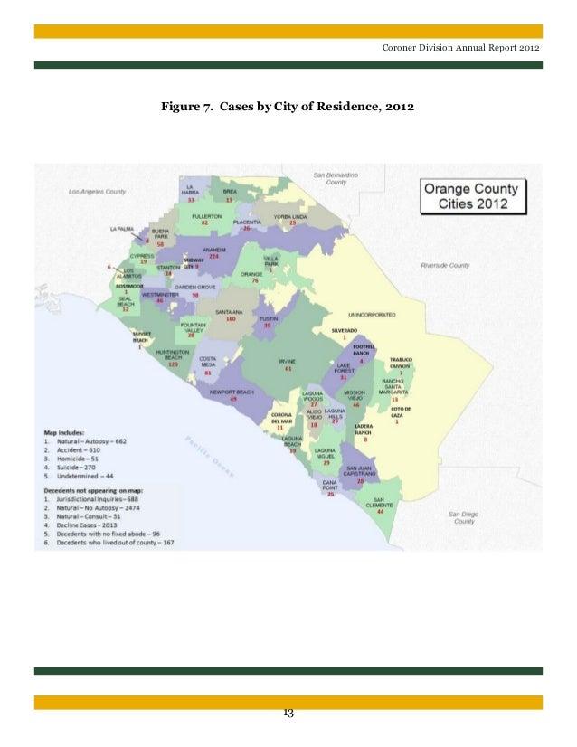 OC Coroner stats 2012