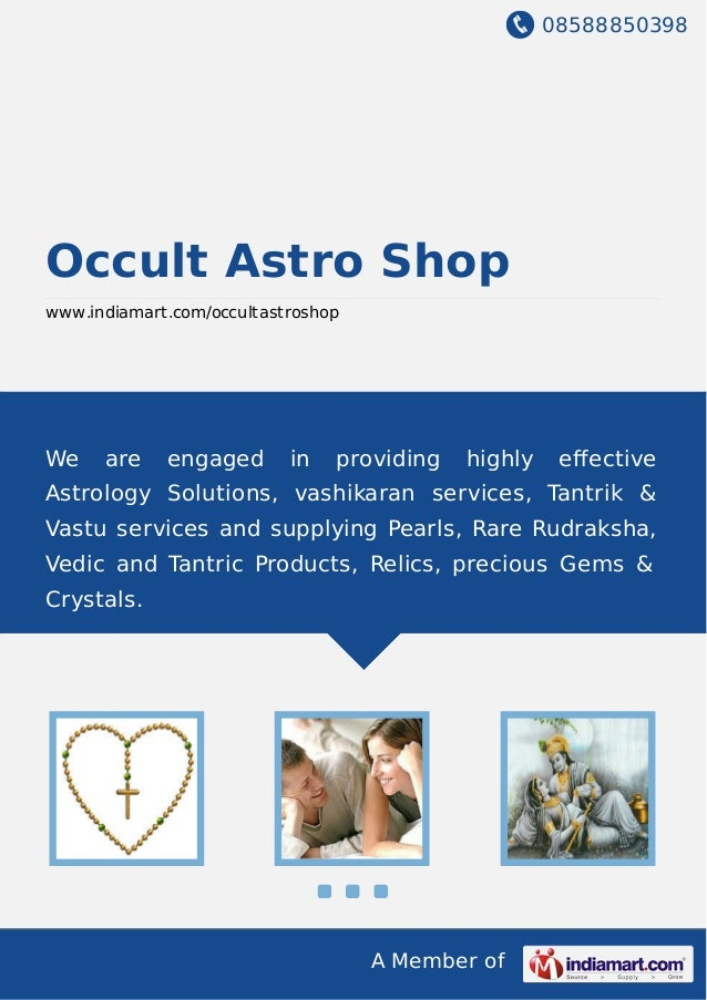 08588850398 A Member of Occult Astro Shop www.indiamart.com/occultastroshop We are engaged in providing highly effective As...