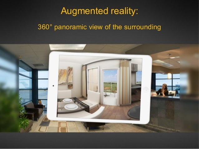 Augmented And Virtual Reality Fro Real Estate