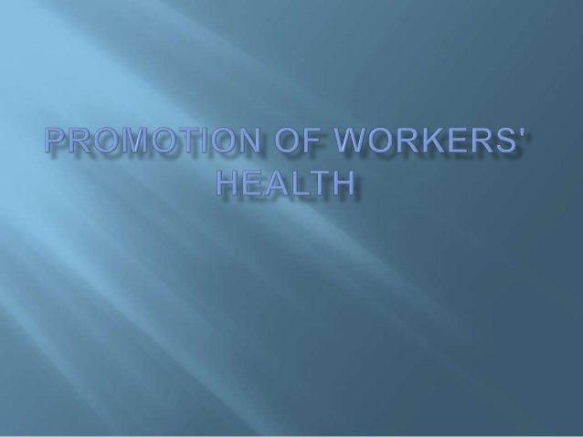 - Pre-employment medical examination: choose the suitable worker. - Pre-placement examination: done by the occupational ph...