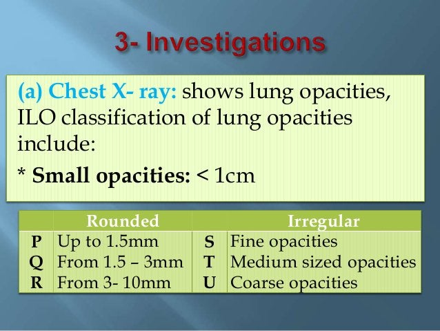 - It is dose dependent. - Smoking is risk factor. - Long thin fibers (crocidolite). - adenocarcinoma type. Preventive meas...