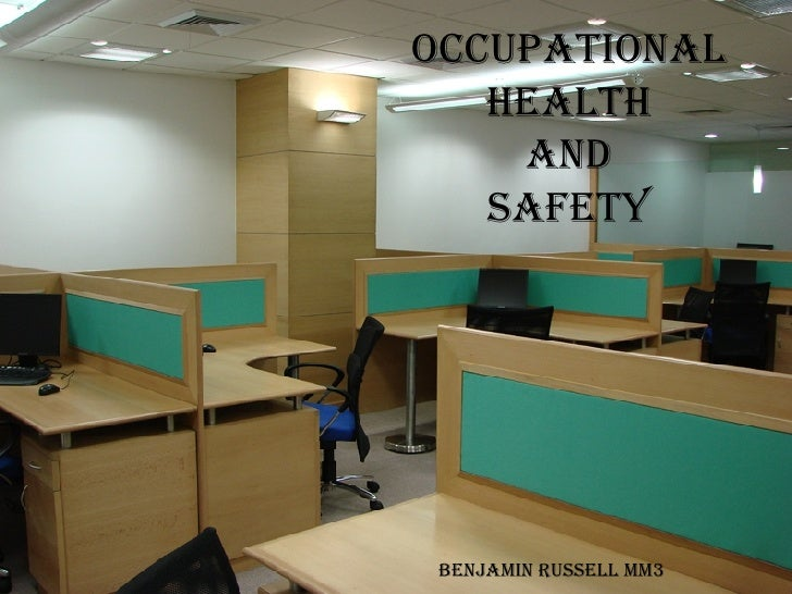 Occupational health and safety Benjamin Russell MM3