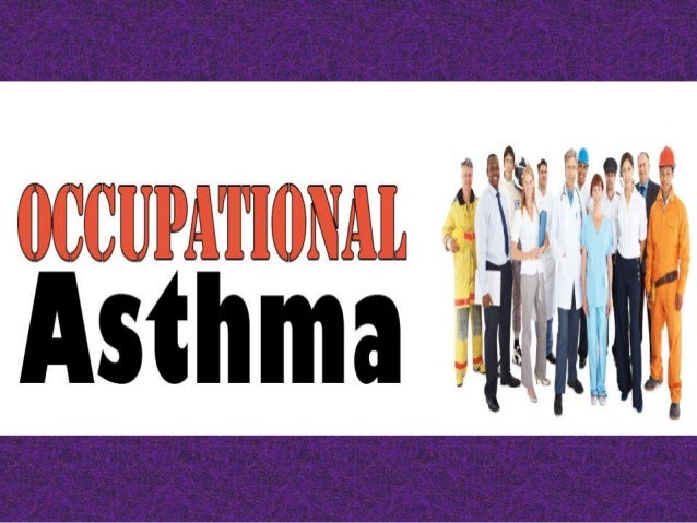 IntroductionOccupational Asthma (OA) is a form of asthma associated with work or a hobbyinvolving inhalation of a chemical...