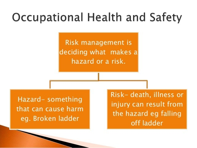 short essay on safety and occupational health