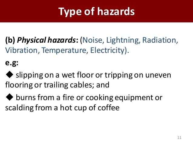 occupational health and safety hazard coffee shop Texas state finance and support services environmental health, safety & risk occupational safety the following table highlights common shop hazards.