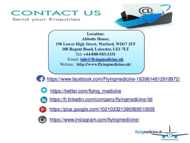 Occupational Health Checks Through Flyingmedicine Ltd UK - 웹
