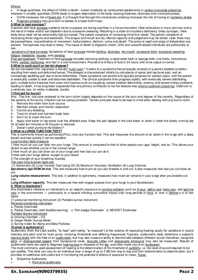 occupational health essay Free essay: occupational safety and health administration past the occupational safety and health administration or osha is a part of the us department of.