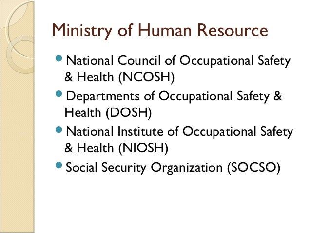 an introduction to the national institute for occupational safety and health niosh National institute for occupational safety and health definition, categories, type and other relevant information provided by all acronyms niosh stands for national institute for occupational safety and health.