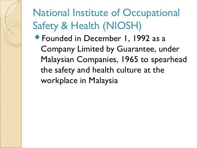 occupational health essay Essay title: the history of occupational health and safety in the early 1900s industrial accidents were commonplace in this country for example, in 1907 over 3,200 people were killed in mining accidents.