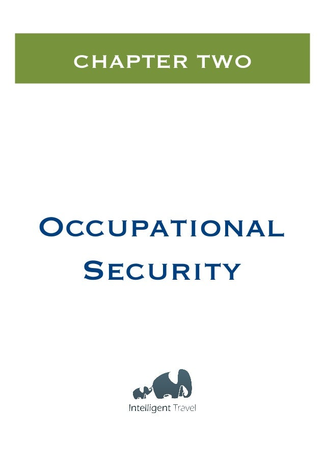 CHAPTER TWO  Occupational Security