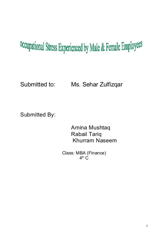 Submitted to: Ms. Sehar Zulfizqar Submitted By: Amina Mushtaq Rabail Tariq Khurram Naseem Class: MBA (Finance) 4th C 1