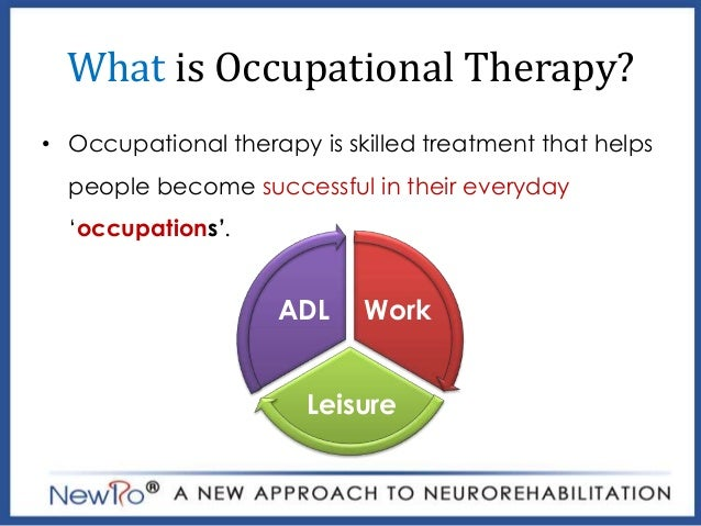 Case study stroke patient occupational therapy
