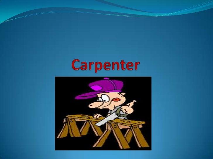 Carpenter<br />