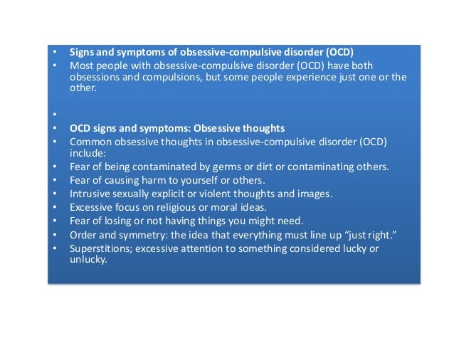 psychology theories of obsessive compulsive disorder ocd Obsessive compulsive disorder: introduction, explanations and treatments obsessive compulsive disorder everyone has a fear or routine for something.