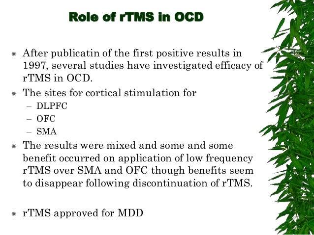 BRAIN STIMULATION METHODS IN OCD