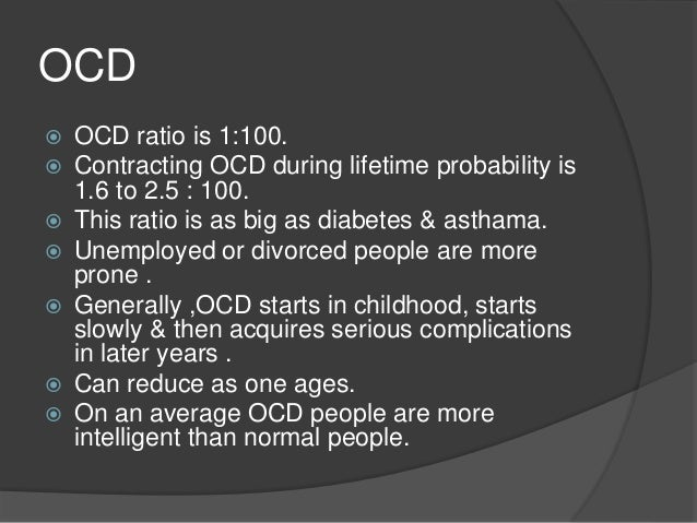 ocd real disease or not Obsessive-compulsive disorder is not always easy to understand, but it's a real illness that causes difficulties in a person's life what is ocd obsessive-compulsive disorder is a mental illness.