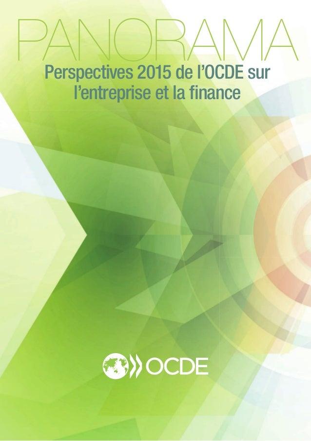PANORAMAPerspectives 2015 de l'OCDE sur l'entreprise et la finance