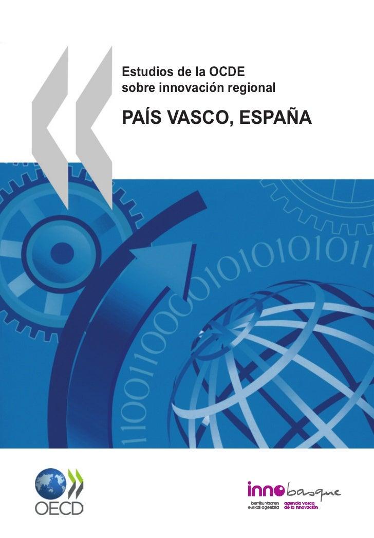 Estudios de la OCDEsobre innovación regionalPAÍS VASCO, ESPAÑA