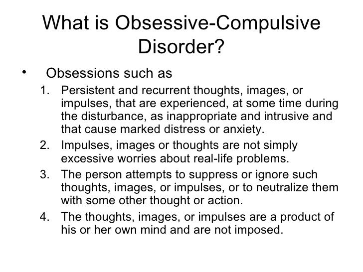 obsessive compulsive disorder nature vs nurture essay Adhd - nurture and nature education and debate personal paper: attention deficit hyperactivity disorder is underdiagnosed and undertreated in britain commentary: diagnosis needs tightening.