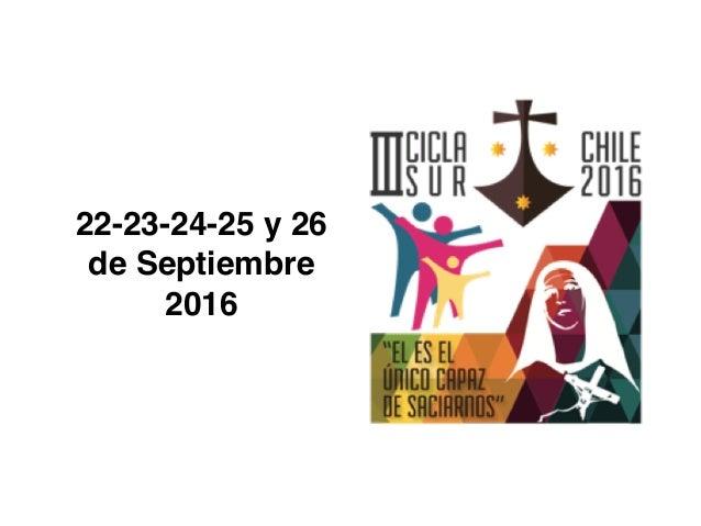 OTRAS PROPUESTAS E IDEAS PARA EL CENTENARIO DE SANTA TERESA DE LOS ANDES - (10) Agenda y Calendarios 2018 – 2019 - 2020 - ...