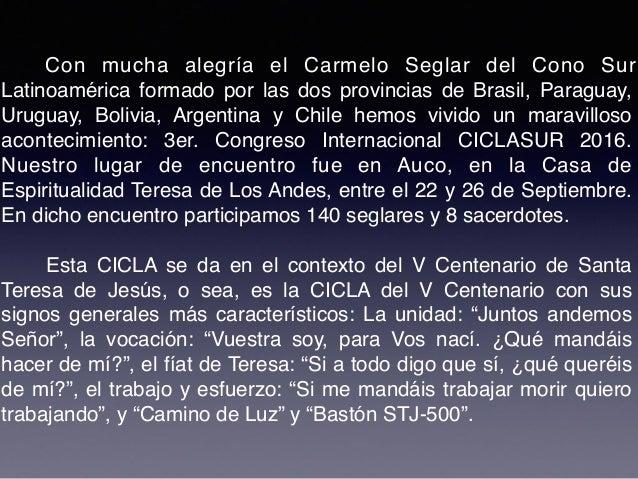 - (23) A las Carmelitas Descalzas se les puede acoger en Monasterio Nuevo y Monasterio Antiguo, o en monasterios de Santia...