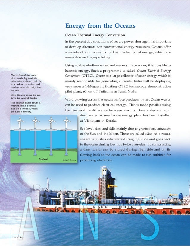 research paper of ocean thermal energy conversion The natural ocean thermal pacific international center for high technology research abstract and full paper on ocean thermal energy conversion.