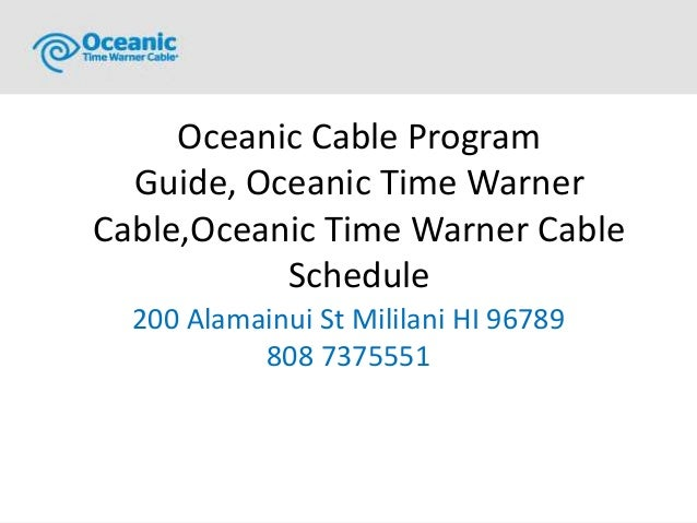 kona cable internet and cable tv rh slideshare net oceanic cable tv guide kahului oceanic cable tv guide hilo