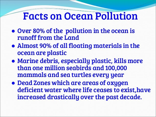 pollution information Water pollution is the contamination of water bodies (eg lakes, rivers, oceans, aquifers and groundwater), usually as a result of human activities.