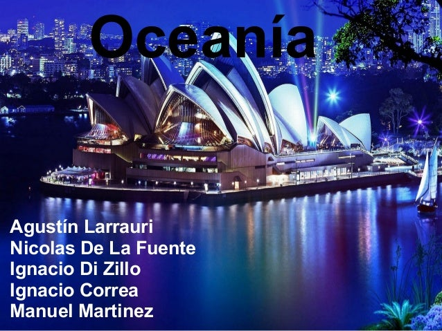 Oceanía Agustín Larrauri Nicolas De La Fuente Ignacio Di Zillo Ignacio Correa Manuel Martinez