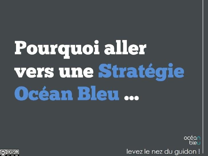 Pourquoi aller vers une stratégie océan bleu