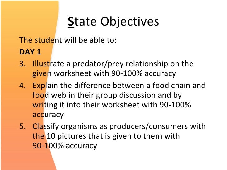 Ocean Food Web Assure Lesson Plan