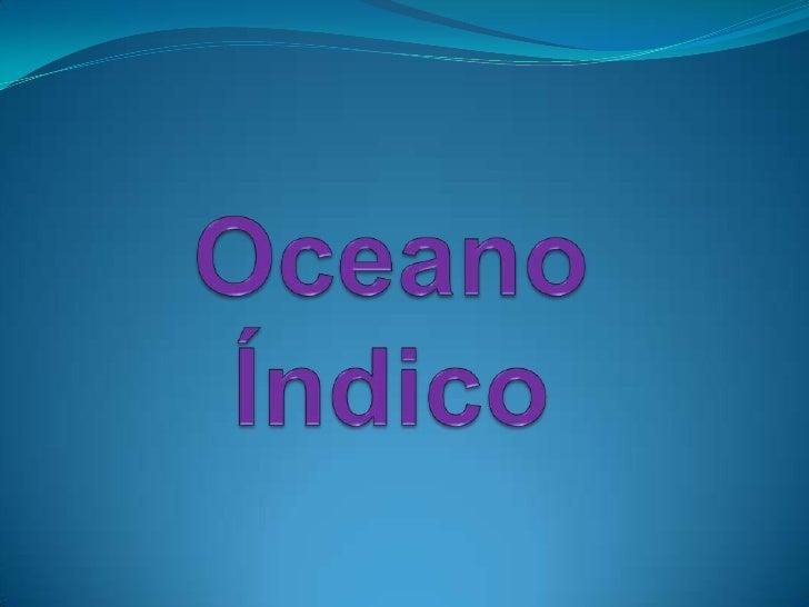 Oceano Índico<br />