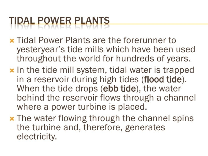 Prospective sites for tidal energy projects Country        Country           Mean tidal   Basin area      Installed      A...