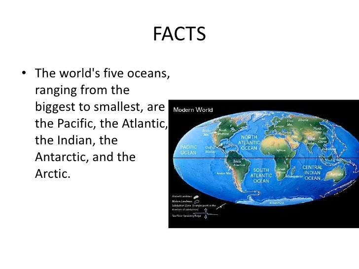 Oceans - What are the five oceans