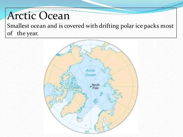 Oceans - Smallest ocean in the world