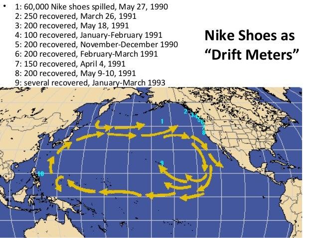 Nike Shoe Ocean Spill