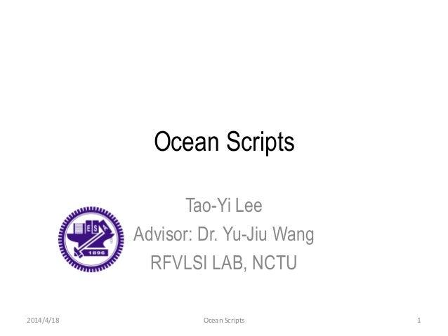 Writing Cadence Ocean scripts