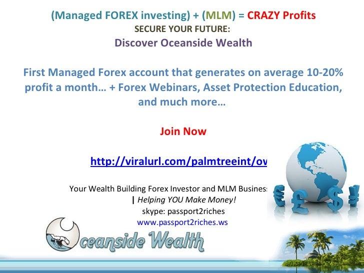Rich forex investors