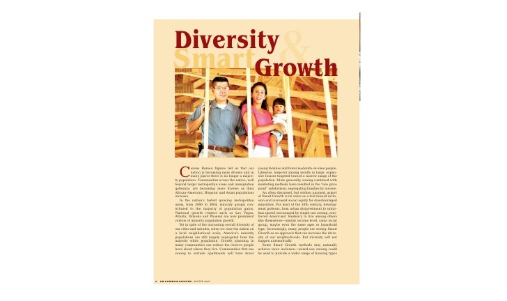 Diversity            SmartGrowth                                                            &               C             ...