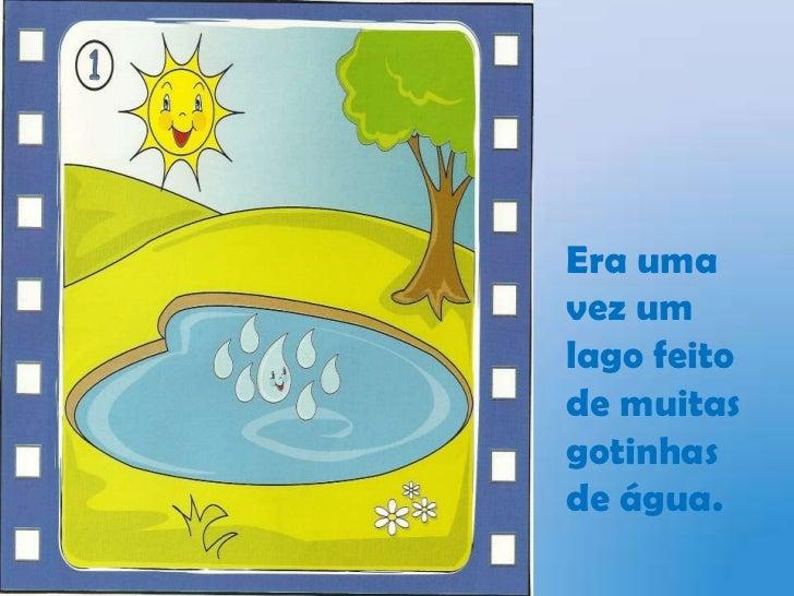 O Ciclo Da áGua Slide 2